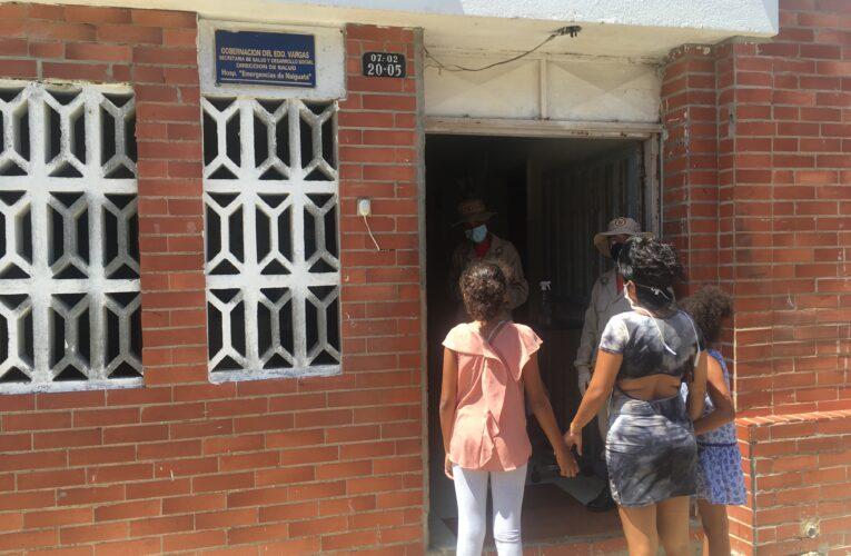 Solo pacientes críticos con Covid-19 de Naiguatá son enviados a Los Caracas