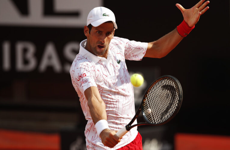 Djokovic avanza a la final en Roma