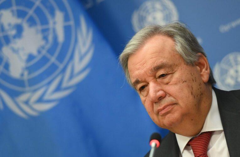 """Guterres pide al madurismo tomarse """"muy en serio"""" el informe"""