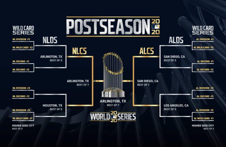 Playoffs de Grandes Ligas se jugarán en burbujas