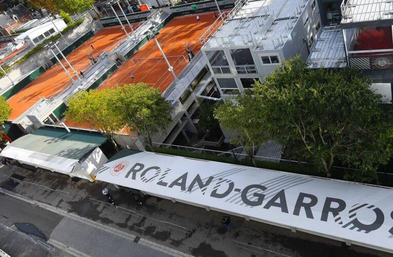 Estruendo en París interrumpe el Roland Garros