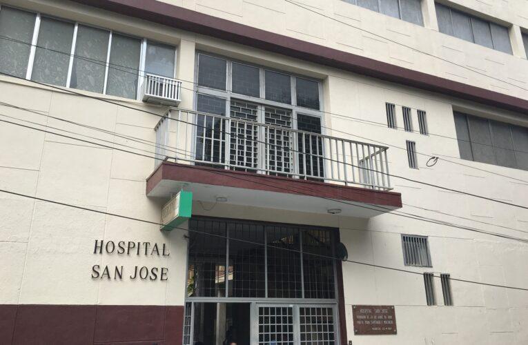 Hoy activaron las consultas externas en el San José