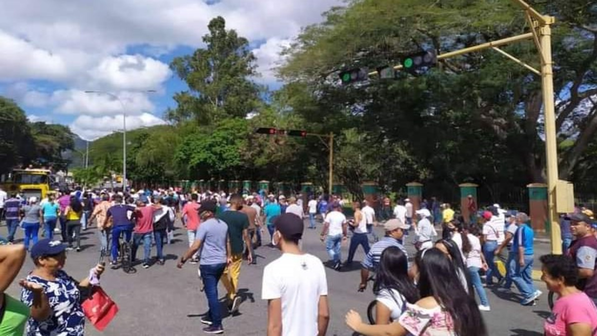 Protestas en Yaracuy
