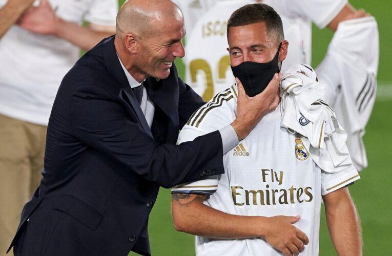 Zidane contento con lo que tiene