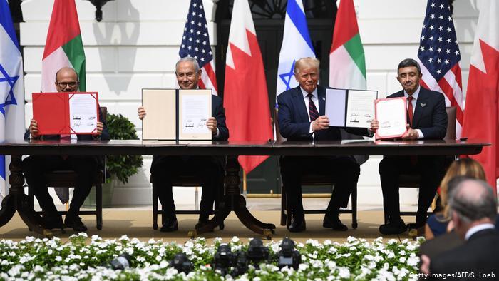Israel sella en la Casa Blanca su acuerdo con Baréin y Emiratos Árabes