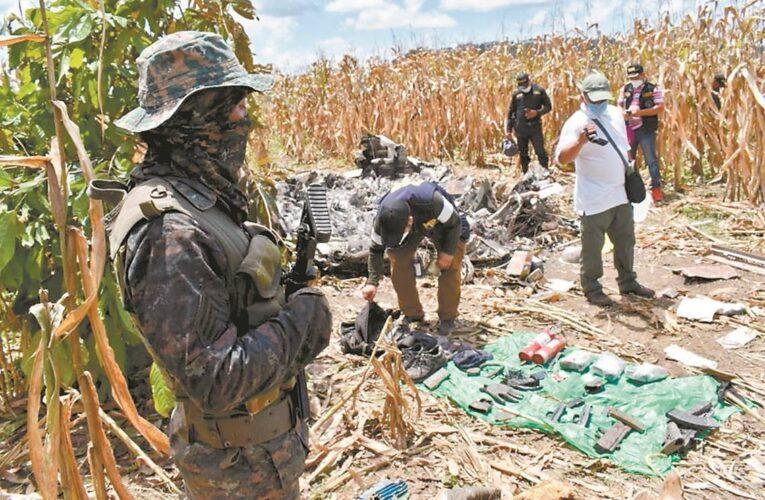 Cuatro muertos en accidente de avión con droga salido de Venezuela
