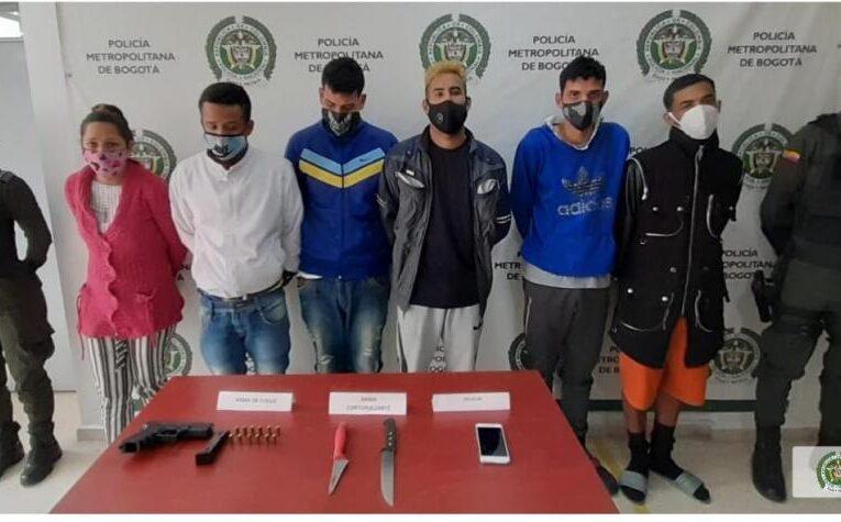 Cae banda de secuestradores venezolanos en Bogotá