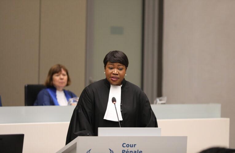 EEUU sancionó a fiscal general de la Corte Penal Internacional