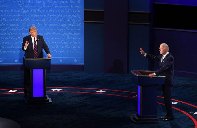 «Empate técnico» en el debate Biden-Trump