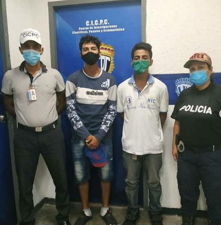 Presos dos integrantes de «Los Charleros» por robo en la Caracas-La Guaira