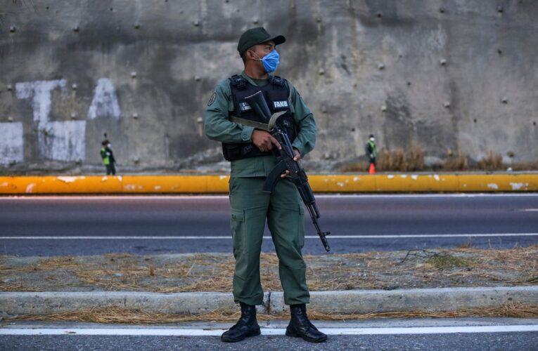 Cerraron autopista Caracas- Guarenas por ejercicios militares
