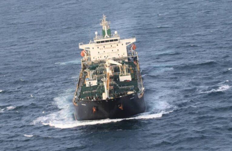 Buque con gasolina iraní ya está en aguas venezolanas