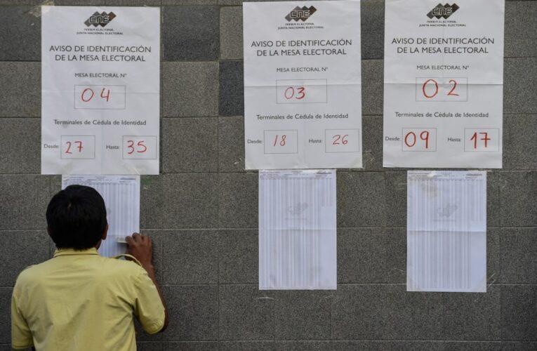 UE insiste en que no hay condiciones para elecciones del 6D