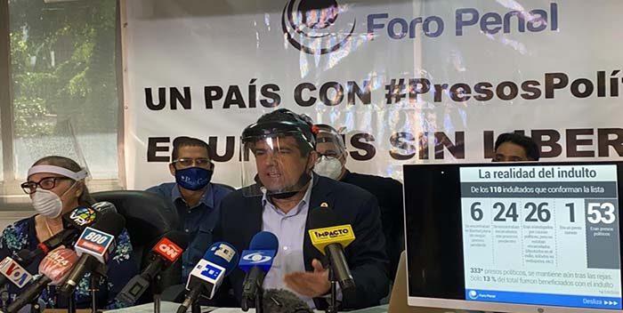 Foro Penal:  Venezuela tiene la tasa más alta de presos políticos en América