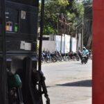 Las bombas no reciben gasolina