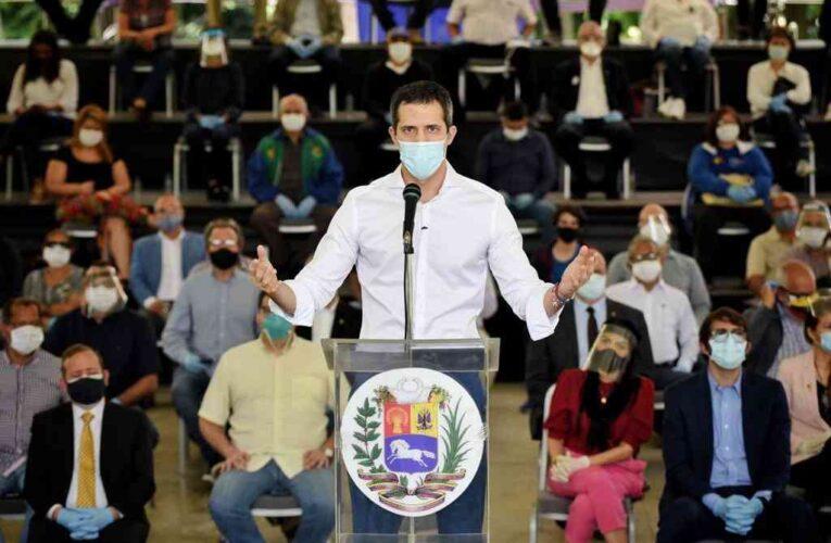 Guaidó convocó movilización en honor al personal sanitario