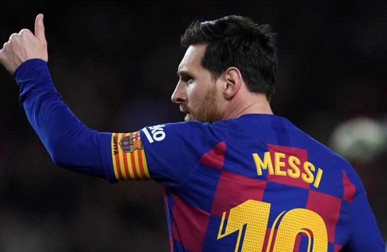 Messi no descarta seguir en el Barcelona