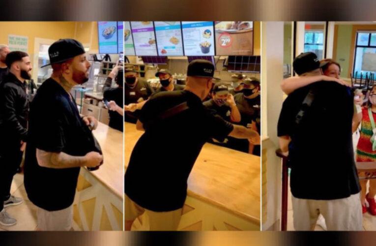 Nicky Jam y Jay Mazini reparten $40.000 en restaurante