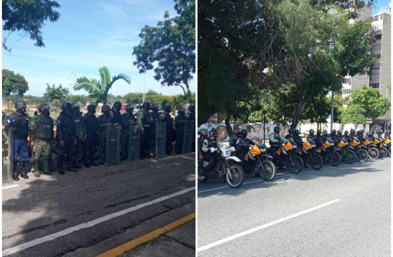 Activistas denuncian represión en protestas