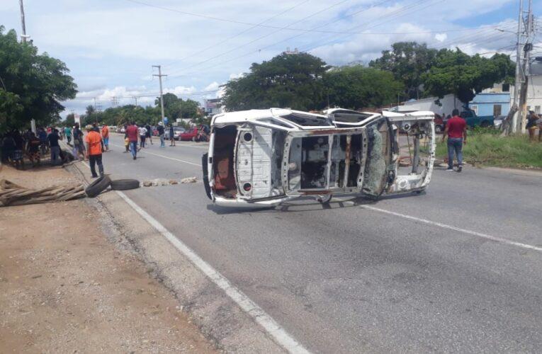 Protestas en Sucre y Nueva Esparta por gasolina