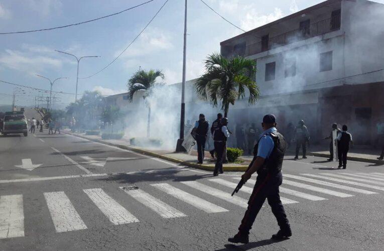 Dictan privativa de libertad contra 10 manifestantes en Yaracuy