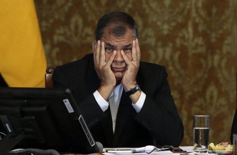 Justicia ecuatoriana confirma condena contra Correa