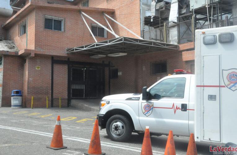 Permanecen cerradas las salas de hospitalización del Periférico de Pariata