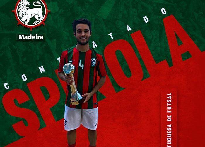 Spínola firmó nuevo contrato en Portugal