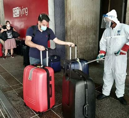 Este lunes sale el vuelo de pasajeros varados a Panamá