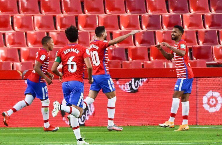 Yangel Herrera marcó el primer gol de la temporada en España