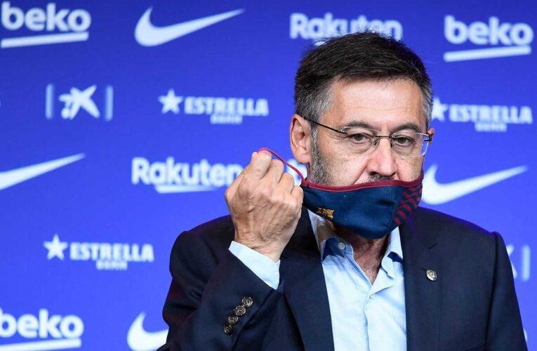 Bartomeu renuncia al Barcelona