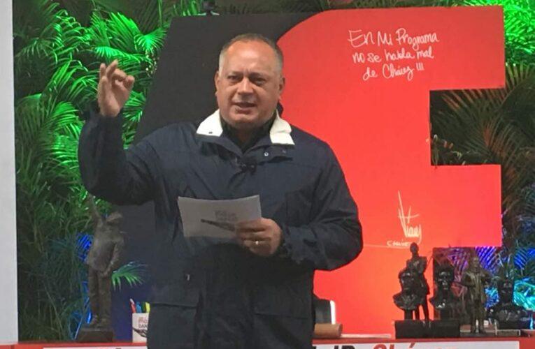 Cabello denuncia campaña par promover la migración