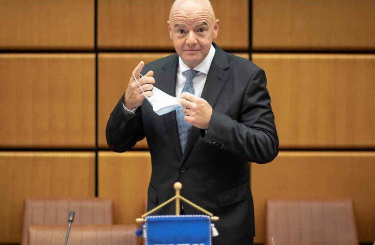 Presidente de FIFA positivo por Covid