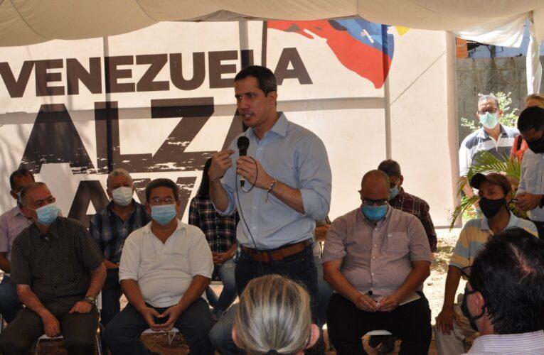Guaidó: El fraude electoral ya está liquidado