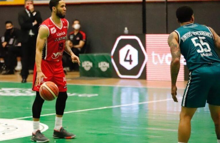Guillent encendido en baloncesto mexicano