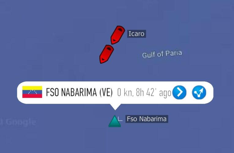 Dos barcos evitan que se hunda el Nabarima