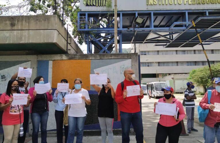 Maestros convocan protesta nacional para este 21-O