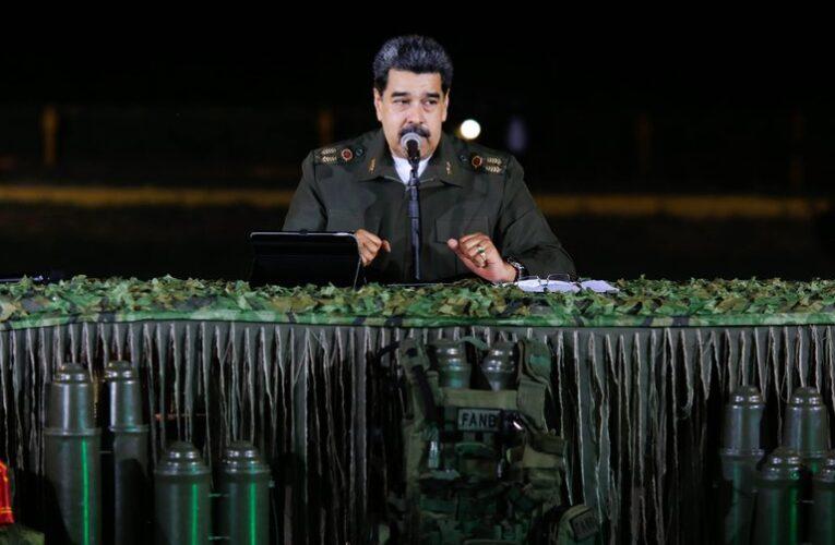 Maduro: Venezuela reforzará su sistema de armas