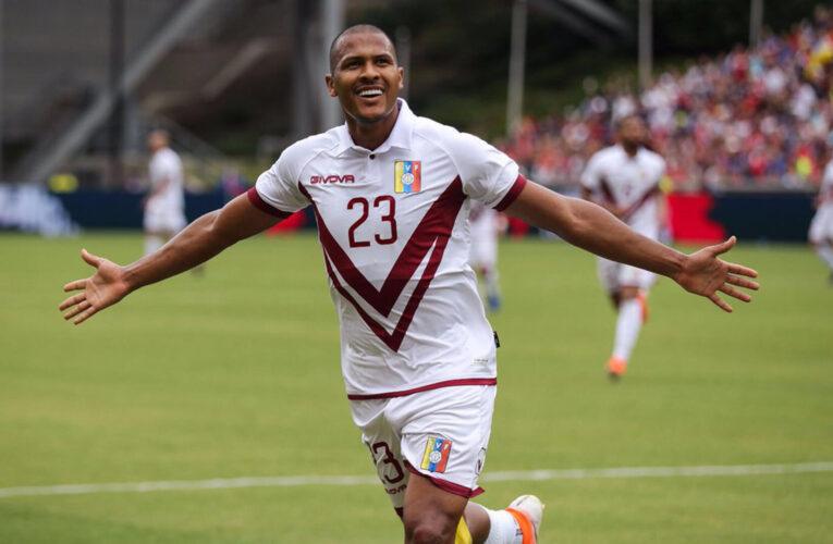 Salomón Rondón no irá al inicio de las eliminatorias