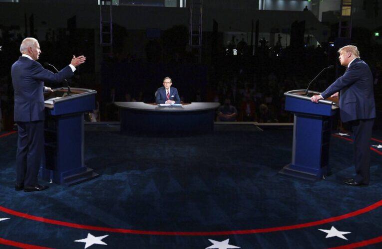 Cancelan segundo debate entre Trump y Biden