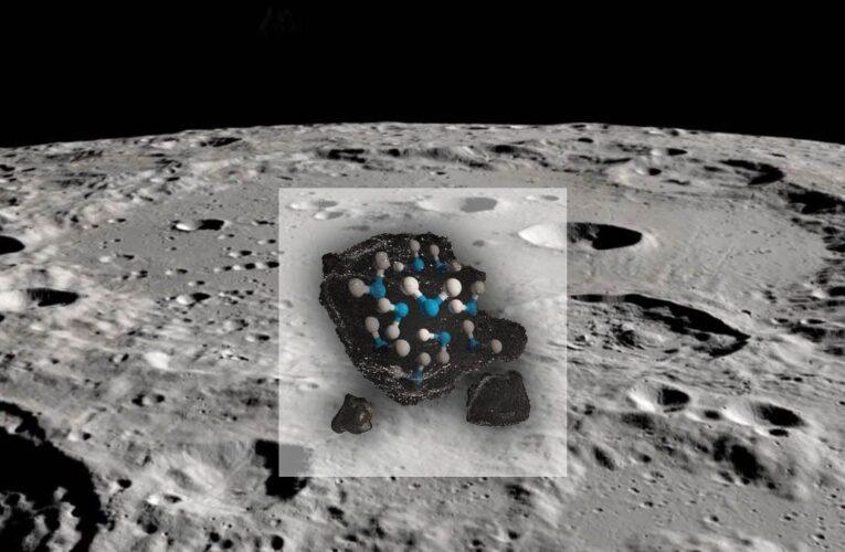 NASA confirma que hay agua en la luna
