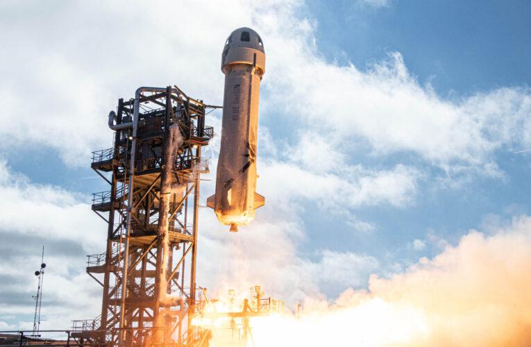 NASA ensaya tecnología de alunizaje con cohete de Bezos