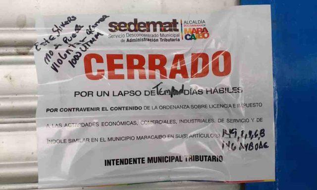 Fedecámaras Zulia denunció el cierre de al menos 70 empresas en Maracaibo