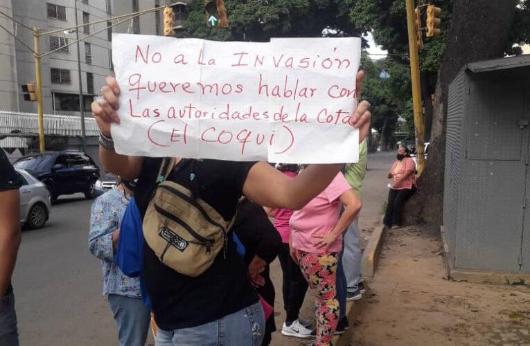 El Paraíso protesta: Piden hablar con El Coqui ante invasiones