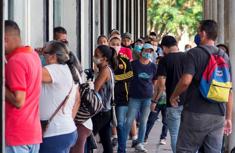 Venezuela registró 302 nuevos contagios
