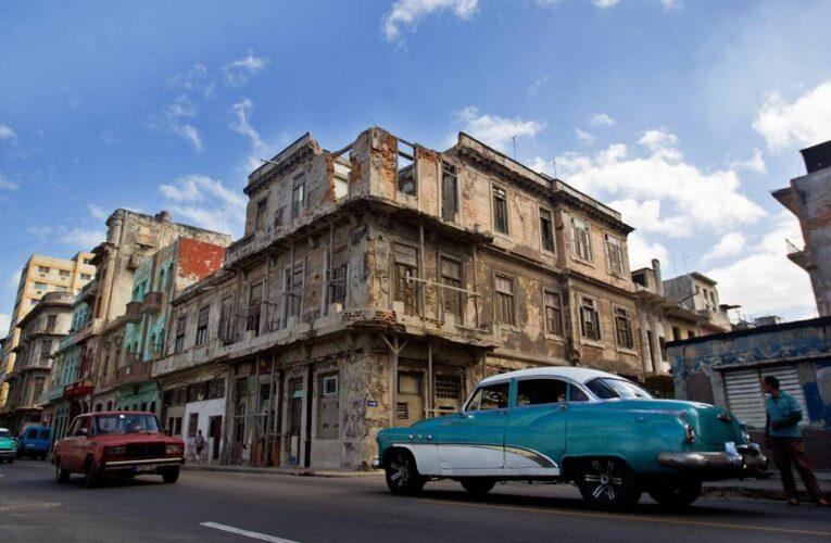Se derrumban los edificios en Cuba