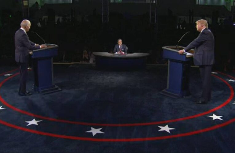 Trump impaciente por debatir en 9 días