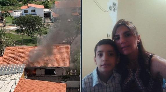 Madre e hijo fueron asesinados durante un robo