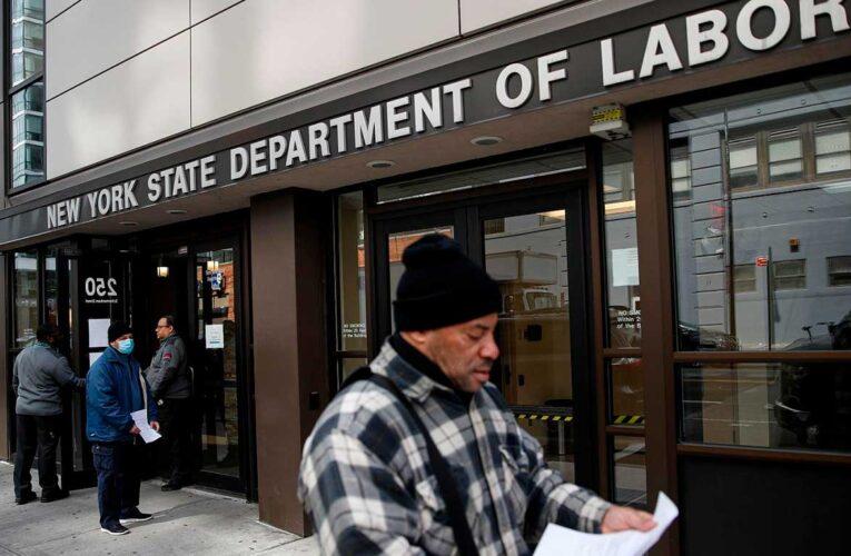 Otros 840.000 estadounidenses solicitaron beneficios por desempleo