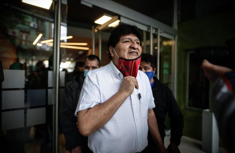 Evo Morales salió de Argentina rumbo a Venezuela